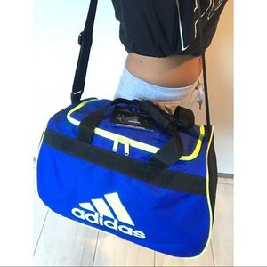 adidas Bags - Limited Edition Adidas Blue Electric Travel Bag 727bcbf929fda